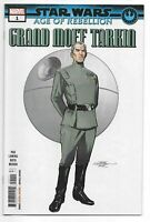 Star Wars Age of Rebellion Grand Moff Tarkin #1 Marvel Comic 1st Print 2019 NM