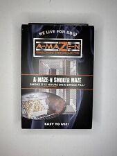 A-MAZE-N 5x8 Wood Pellet Maze Smoker Smoke Generator AMAZEN Grill Cookout New