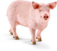 Schleich 13782 Standing Sow Pig, Pink & Pudgy