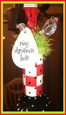 Just Too Cute Ring  Christmas Bell  Ornament   New in Box