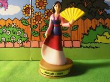 McDonalds Happy Meal Toy 100 Years of Magic Disney 1998 Mulan Figurine cake deco