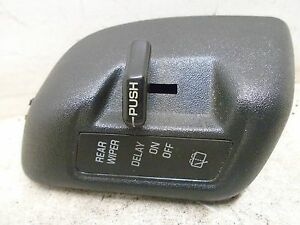 94 95 96 Chevy Lumina APV Wiper Control Switch OEM 10249393