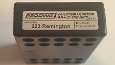 28111 REDDING MASTER HUNTER DIE SET - 223 REMINGTON - BRAND NEW - FREE SHIP!
