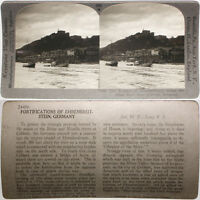 Mexico From RARE 1200 Card Set Keystone Stereoview view Overlooking Chihuahua