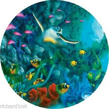 Jigsaw puzzle Animal Fish Jewels of the Sea 500 piece round NEW