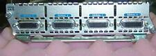 Cisco 2600 2610 3600 4 Port Serial Interface NM 4A/S