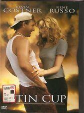 Tin Cup (1996) DVD - EX NOLEGGIO (SNAPPER) BOLLINO ROSA