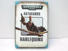 Games Workshop WARHAMMER 40000 COLOMBINE Datacards schede dati WH40K ELDAR NUOVO