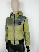 REFRIGIWEAR Parka Bomber Cappotto Giubbotto Jacket Coat Giacca Tg S Donna Woman