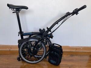 Brompton E-Bike M6L Black- 6 speed