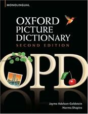 Oxford Picture Dictionary by Adelson-Goldstein, Jayme