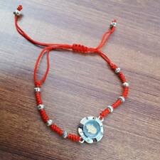 Red String With Spinning Lucky Hamsa Kabbalah Protection Bracelet