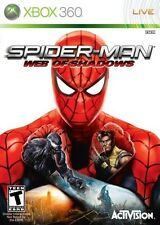 Spider-Man: Web of Shadows (Microsoft Xbox 360, 2008) -- FREE SHIPPING!!