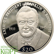 Aa3874) Liberia 20 dollar 2000