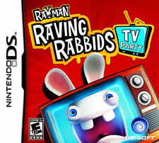 Rayman Raving Rabbids TV Party NDS New Nintendo DS
