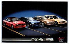 Mid-1980s Chevy Cavalier Coupe, Hatchback, Sedan, Station Wagon Postcard