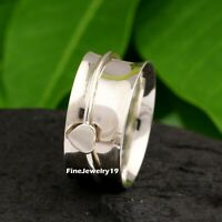 925 Sterling Silver Ring Spinner Ring Meditation Ring Handmade Ring Jewelry A486