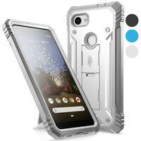 Poetic For Google Pixel 3a Kickstand Case,Dual Layer Shockproof Protective Cover