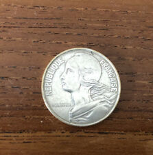 Pièce 20 centimes argent 1974 Lagriffoul Piéfort Marianne