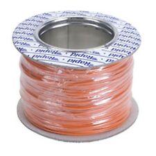 Model Railway/Railroad Layout/Point Motor etc Wire 100m Roll 7/0.2mm 1.4A Orange