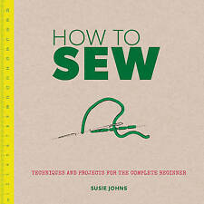 How to Sew, Susie Johns, New Book