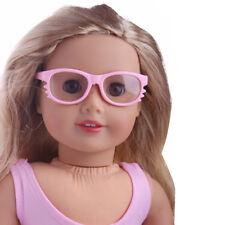 "2018 handmade fashion glasses for 18"" American Girl Doll accessory m70"