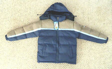 nwt boys winter jacket coat parka excel insulat puffer water resist size 14 / 16
