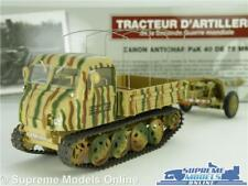 ARTILLERY TRACTOR RAUPENSCHLEPPER MODEL & TRAILER 1:43 SIZE MILITARY ARMY IXO K8