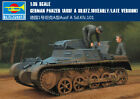 PANZER 1AUSF A SD.KFZ.101 EARLY/LATE VERSION 1/35 tank Trumpeter model kit 80145