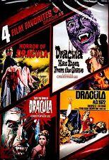 NEW  2DVD // DRACULA // 4 movies - HAMMER STUDIOS // HORROR //  CHRISTOPHER LEE