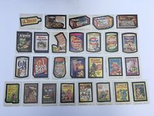 1974 Topps Wacky Packages Packs 11th 11 Series Set Lot of 27 Cards Stickers