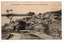 MADAGASCAR DIEGO SUAREZ Village Antémoure des ouvriers du bassin de Radoub