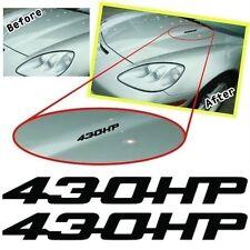 MG2006 - LS3  Hood 430HP decals, sticker Metro Auto Graphics fits 2008 Corvette