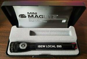 IBEW International Brotherhood of Electrical Workers Mini Maglite Flashlight 2AA