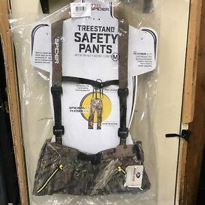 Men's Featherlite Spiderweb MOI Tree Spider Safety Pants w Scent Blocker. Medium