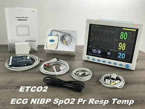 ETCO2 Capnography Vital Signs Patient Monitor,7 Parameter CONTEC CMS8000 USA FDA