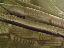 Brunschwig & Fils Art Deco Moderne Pinwheel Mohair Velvet Grey Bark