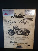 Indian Eighty Chief Repair and Overhaul Service Manual