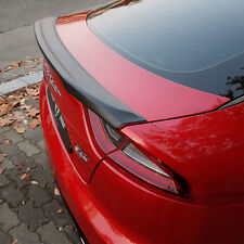 USA New M&S Matte Black Rear Trunk Wing Spoiler S Type  for Kia Stinger 17-18