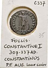 LANZ ROMAN EMPIRE FOLLIS CONSTANTINE I TICINUM MARS  ±TEK5162