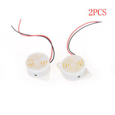 2PCS SFM-27 DC 3-24V 90DB  Beep Alarm Electronic Continuous   Buzzer Sounder XG