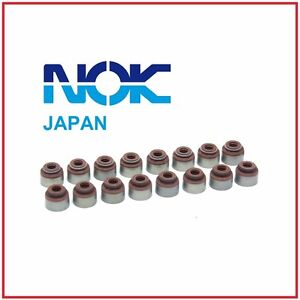 16 OEM NOK Japan Honda CR-V B20B Valve Stem Seals Full Set 8 INTAKE + 8 EXHAUST