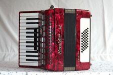 Piano accordion akkordeon fisarmonika ROYAL STANDARD METEOR 40 bass