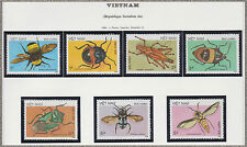 VIETNAM N°750/756** INSECTES, 1986 Vietnam 1705-1711 Insects MNH