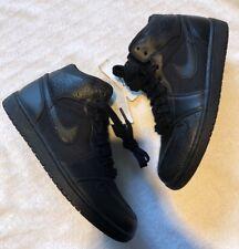 Men's Nike Black Hi Tops, Size 9
