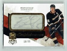 10-11 UD Upper Deck The Cup Scripted Swatches  Ryan Getzlaf  /35  Auto  Patch
