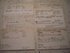 LOT OF 30 OLD EAST HAVEN CONNECTICUT REAL ESTATE CARDS 1949-1960