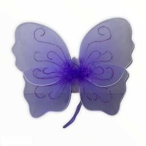"""1 piece 9"""" Fairy Angel Butterfly Wings Infant Toddler Costume TOY GIFT HW-9"""