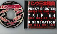 PUNK SANBON SHOBU JAPAN PROMO-ONLY CD XDCS 93233 D Generation,TRIP 66, P.Brüster