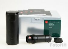 NEW LEICA MONOVID 8 x 20 MONOCULAR WITH LEATHER CASE INCL. /LEICA NUMBER : 40390